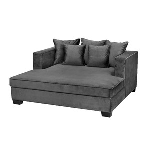 Daybed Vancouver B175 *D165*H77 Velour Dark Grey